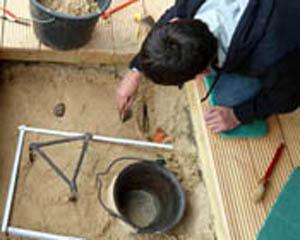 Die jungen Archäologen